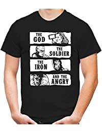 The God, Soldier, Iron and the Angry | T-Shirt