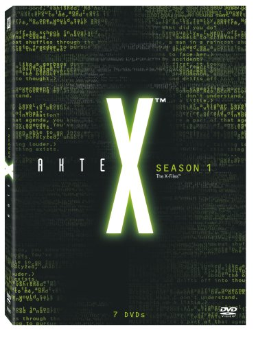Akte X - Season 1 Collection [7 DVDs] (Hollywood-poster Alten)