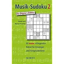 """Musik-Sudoku (HP10/12): 60 neue """"klingende"""" Rätsel für Einsteiger und Fortgeschrittene. Band 2."""