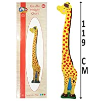 Kids Children Wooden Giraffe Jungle Animals Growth Height Chart Gift 119cm