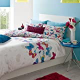Catherine Lansfield Butterfly Fusion King Quiltset - Multi-Colour