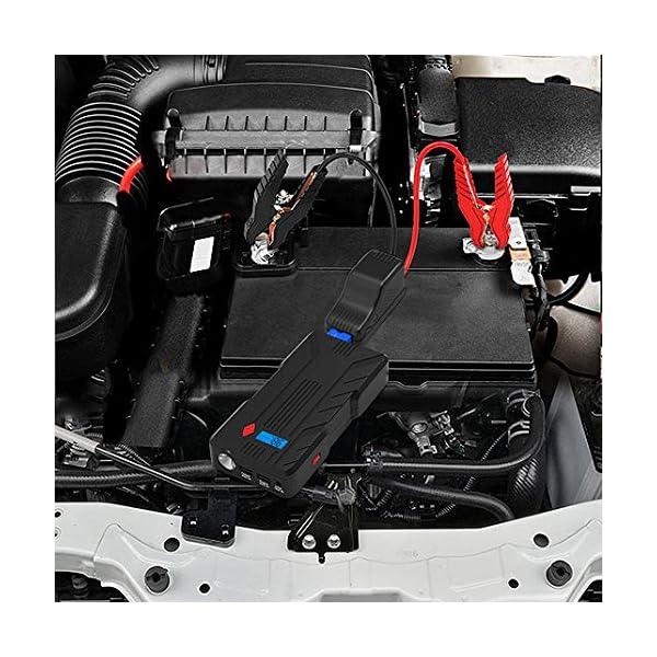BEATIT Cable de Arranque para Jump Starter- EC5 Puerto Conector 12 V Batería Alligator Abrazadera