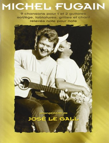 Fugain Michel 9 Chansons Guitar Tab Book
