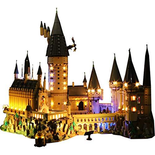 12che LED Licht Kit Licht Zubehör für Lego Harry Potter Hogwarts Castle 71043 - Kein Lego Set