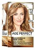 L'Oréal Paris Excellence Age Perfect Coloration, 7.31 dunkles caramelblond, 3er Pack (3 x 1 Stück)