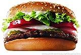2x Burger Catering Van Aufkleber Grafiken Bar Pub Take Away Trailer Fast Food