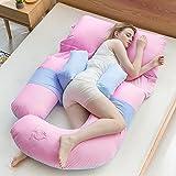 Schwangerschaft-spezielles Schlaf-seitliches Kissen / schwangeres Kissen / lumbales Schlaf-Kissen / Kissen-Kissen / Multifunktions u Kissen / ( Farbe : 3 )