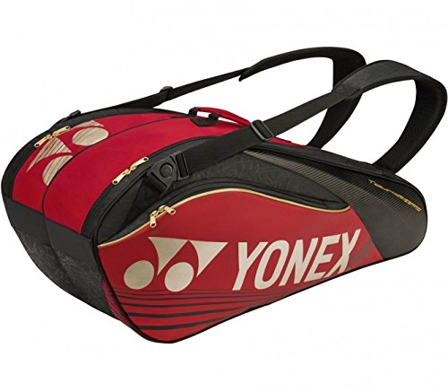 YONEX 6R PRO SERIES RACKETBAG BADMINTON SQUASH TENNIS RED