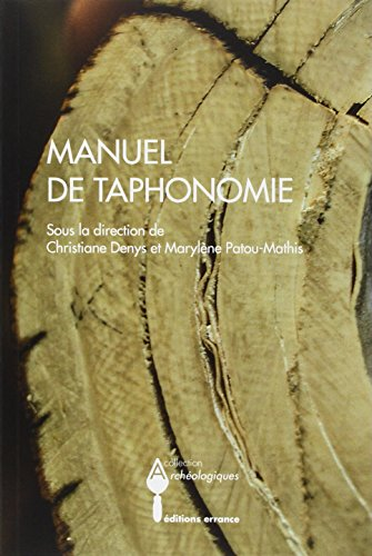 Manuel de taphonomie