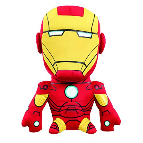 Marvel - AVG02313 - Iron Man, Medium-Plüschfigur mit Sound, 20 cm