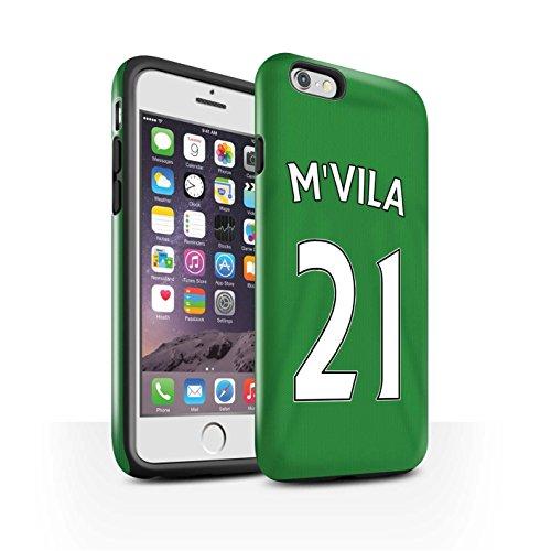 Offiziell Sunderland AFC Hülle / Glanz Harten Stoßfest Case für Apple iPhone 6S / M'Vila Muster / SAFC Trikot Away 15/16 Kollektion M'Vila