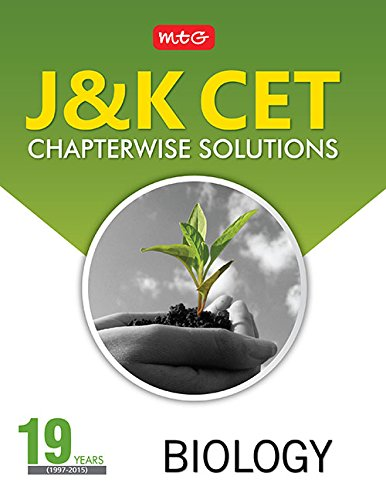19 Years J & K CET – Chapterwise Solutions- Biology