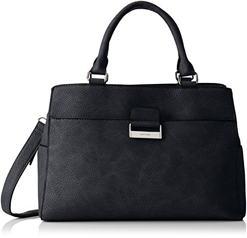 GERRY WEBER - Talk Different II Handbag L, Borsa con Maniglia Donna Dark Grey (Grau)