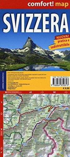 Carta Stradale della Svizzera - Comfort Map 1: 350 000