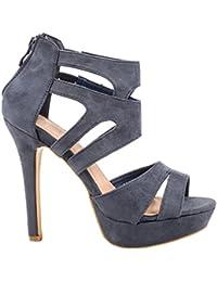 1b4257ff6b043b Suchergebnis auf Amazon.de für  blaue high heels  Schuhe   Handtaschen
