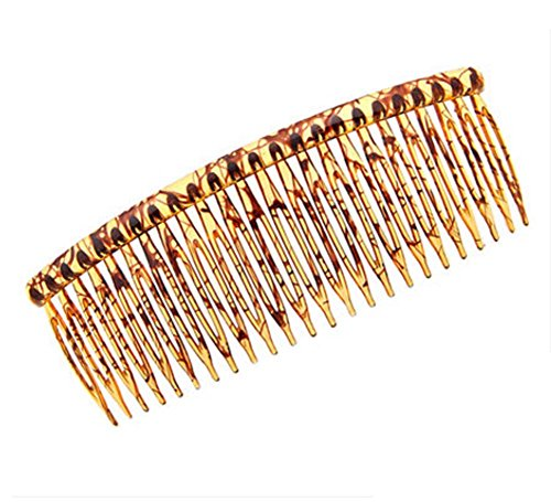 Peigne simple Amber Color Hair Ornaments Super Light Hairpin Headdress