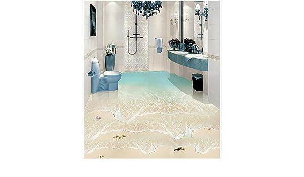 3d Fußboden Folie Kaufen ~ Ddbbhome modernes kundenspezifisches fußboden wandbild des strand