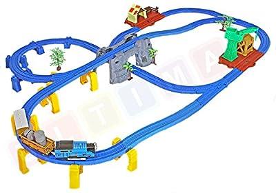 Lokomotive mit Ton + Zugwaggons von ULTIMAR