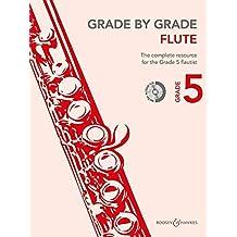 Grade by Grade - Flute: Grade 5. Flöte und Klavier. Ausgabe mit CD.