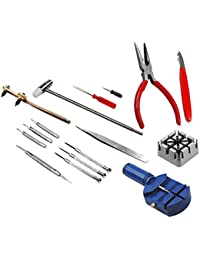 DIY Crafts DIY Works 1 Kit/Sets 16 Piece Watch Repair & Wrist Strap Adjust Tool Kit DIY Crafts