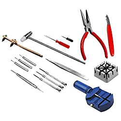 Dhan Distributors 16 Pcs Set Adjust Pin Tools Kit Back Remover Repair Kits Wrist Strapm DIY Crafts� Do it Yourself Gifts 2 Gifts Branded By DIY Crafts