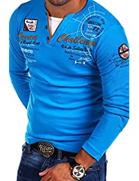 MT Styles 2in1 à manches longues Polo CHALLER T-Shirt R-0741