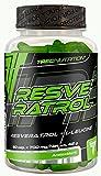 Trec Nurtrition Resveratrol Weintraubenextract Antioxidant Formel Anti Stress Formel Energie Training Sport Bodybuilding 60 Kapseln