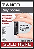 NEW MK11 ZANCO TINY PHONE WORLDS SMALLEST THINNEST MOBILE  BLACK  SMS BT MUSIC BT DIALER MP3 UNLOCKED CE ROHS WCDMA & GSM  sold by phones 4u ltd