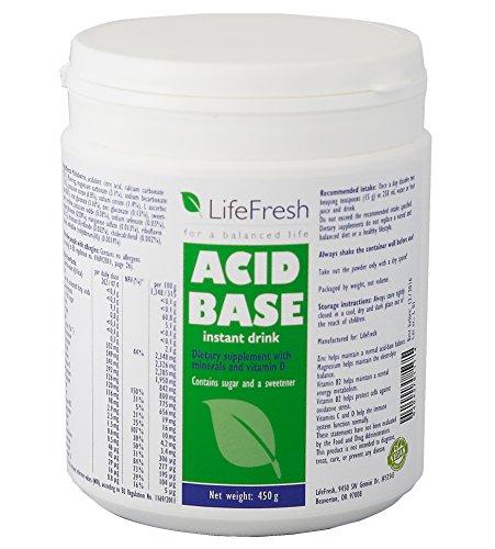 Acid-Base Balance Instant Drink 450g, Säure-Basen Balance Instant Getränk In DEUTSCHLAND hergestellt, Basenpulver, Basische Nahrungsergänzung, Effektive Entsäuerung von - LIFEFRESH - Ihr Schlüssel für Gesundheit, Gewichtsabnahme und Vitalität.