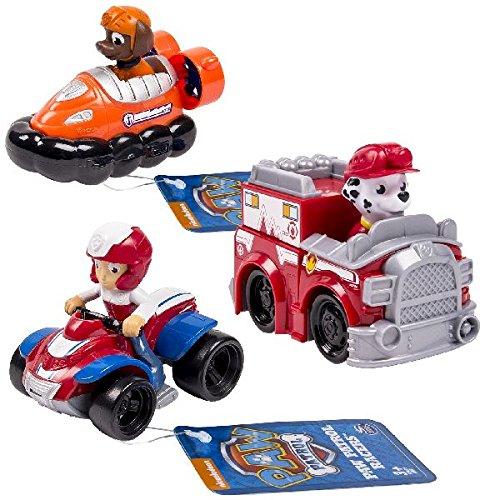 PAW PATROL 6026590-Rescue Racers Confezione 3...