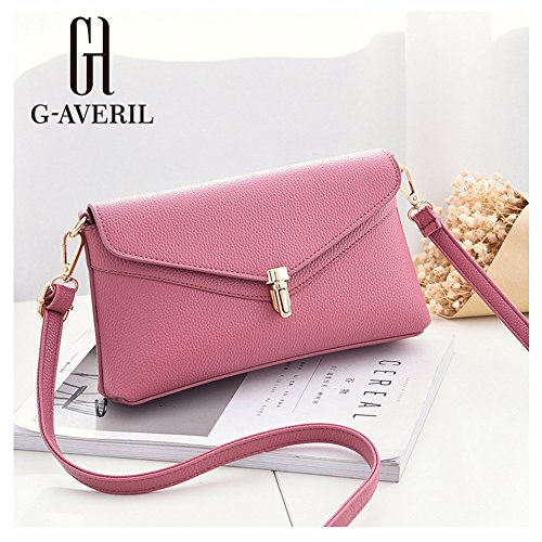 G-AVERIL, Borsa a mano donna Red Wine Pink