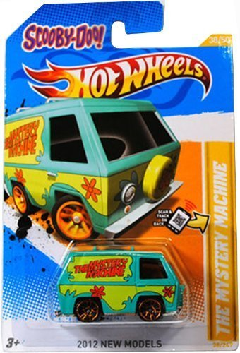 SCOOBY-DOO! THE MYSTERY MACHINE Hot Wheels 2012 New Models Series #38/50 Scooby Doo Mystery Machine 1:64 Scale Collectible Die Cast Car by Hot Wheels