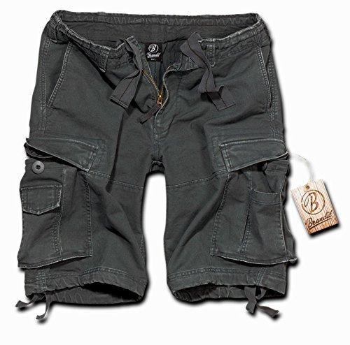 Brandit Vintage Short  Gr:- XL, Farbe:-Anthrazit