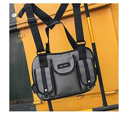 Harddo Tactical Chest Rig Gürteltasche Hip Hop Street Wear Schultertasche, Casual Daily Travel Handtasche Für Mann Männlich Unisex -