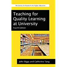 Teaching For Quality Learning At University (Society for Research into Higher Education) (English Edition)