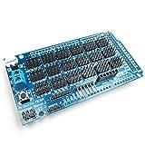 HiLetgo® MEGA Sensor Shield Scheda di espansione sensore V2.0 per Arduino UNO MEGA1280 MEGA2560 MEGA2560 R3
