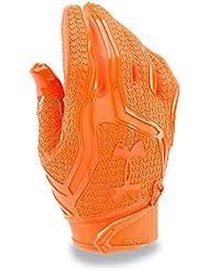 Guantes de futbol americano Under Armour Swarm II - Blaze Orange 825 (X-Large)