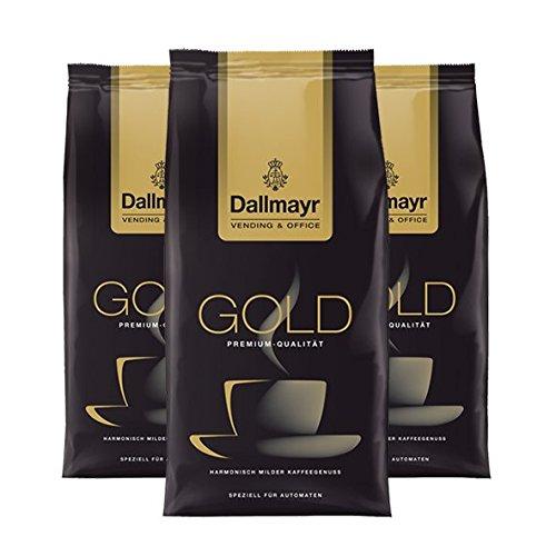 Dallmayr Vending & Office Gold Spezial, gemahlen, 500g, 3er Pack