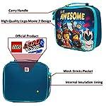 Lego-Movie-2-Porta-Pranzo-per-Bambini-con-Tasca-per-Bevande-o-Merende-Borsa-Termica-Batman