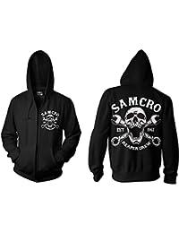 SAMCRO Reaper Crew 1967 Fermeture éclair Hood