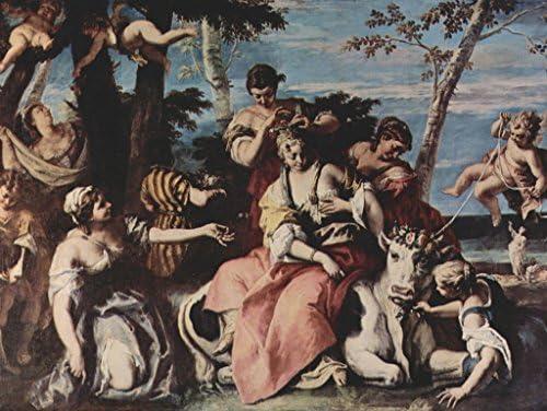 Lais Puzzle Sebastiano Ricci - Vol d'europe 100 Pieces | | | Structurels élégantes  4aa335