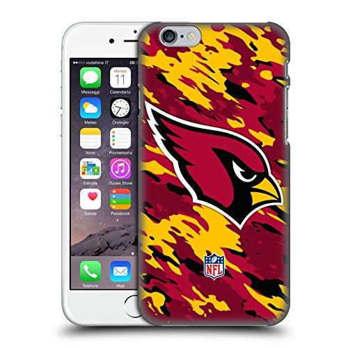 Offizielle NFL Unschärfe Arizona Cardinals Logo Ruckseite Hülle für Apple iPhone 6 / 6s Camou