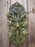 CELTIC GREEN MAN WALL PLAQUE