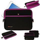 Techgear ® [SENTINEL PRO Sleeve ] Slim Neopren Reißverschluss-Schutztasche Schutzhülle