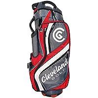 Cleveland C0089631 Bolsa de Carro de Golf, Hombre, Marrón/Roja/Blanca, Talla Única