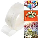 calistouk 100Klebepunkt Folie Luftballons Foto Hochzeit Geburtstag Party Luftballons Klebstoff