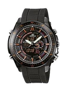 Reloj de caballero CASIO Edifice EFA-132PB-1AVEF de cuarzo, correa de resina color negro de DKNY