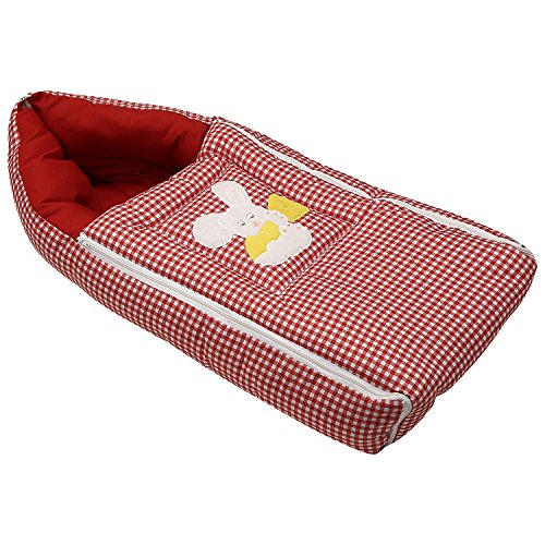 Littly 3-in-1 Premium Quality Baby Sleeping Bag (Red)