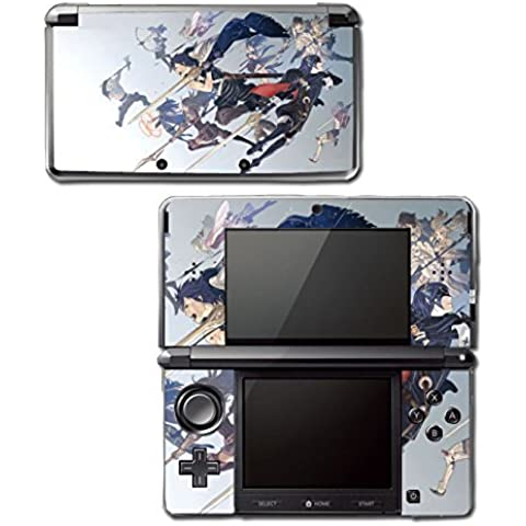 Fire Emblem Marth Roy Awakening Smash Bros Video Game Vinyl Decal Skin Sticker Cover for Original Nintendo 3DS System by Vinyl Skin