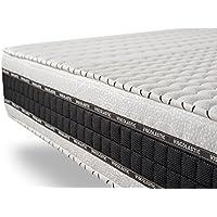 Colchón viscoelástico 135 x 190 cm LUXE-MEMORY 7 zonas de confort, reversible 25